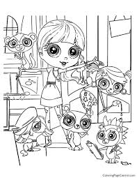 Small Picture Littlest Pet Shop 02 Coloring Page Coloring Page Central