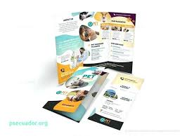 Printable Tri Fold Brochure Template New Simple Tri Fold Brochure Template