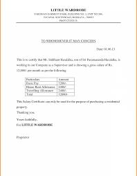Fantastic Salary Certificate Template Festooning Documentation