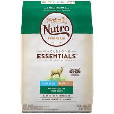 Nutro Wholesome Essentials Pasture Fed Lamb Rice Recipe