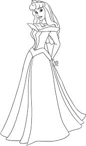 Coloriage Princesse Disney Avec Modele