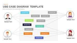 use case diagram powerpoint and keynote template   slidebazaaruse case diagram powerpoint and keynote template