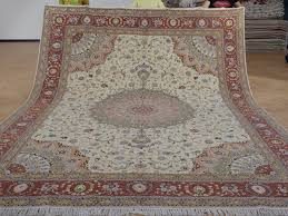 9 x 12 hand knotted brand new wool and silk sino persian tabriz oriental area rug 12980647 goodluck rugs