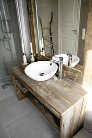 Rustic Bathroom Vanity Lights Inspiration Rustic Country Vanity In An Updated Bathroom Like The Contrast Of