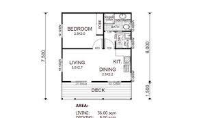granny flat house plans 30460