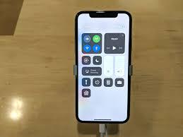iphone x vs iphone 7 control centre 2