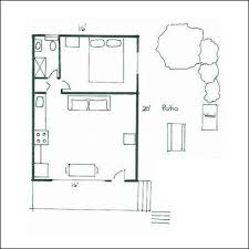 images about One bedroom floor plans on Pinterest   Floor       images about One bedroom floor plans on Pinterest   Floor plans  One bedroom and Guest houses