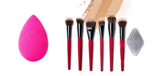 what are the diffe types of foundation brushes