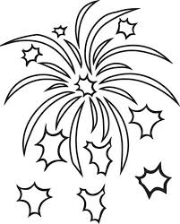 Small Picture Free Printable Fireworks Coloring Page for Kids 2