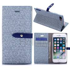 mercury goospery milano diary series pu leather tpu card holder with stand and magnetic buckle case for iphone 7