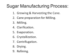 Sugar Manufacturing Process Ppt Video Online Download