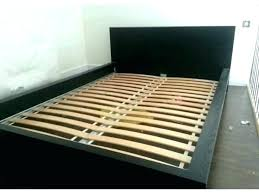 High Bed Frame King Low Profile Bed Frame King Platform Full Premier ...