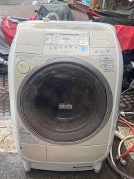 Máy giặt cũ nội địa Hitachi V2200R giặt sấy chống nhăn