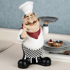 Italian Chef Decorations Kitchen Fat Waiter Chef Kitchen Picture Plaque Wall Decor Pictures To Pin