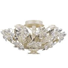 shabby chic lighting fixtures. crystal flowers ceiling light shabby chic lighting fixtures h