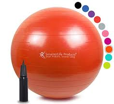 Exercise Ball For Yoga Balance Stability From Smarterlife Fitness Pilates Birthing Therapy Office Ball Chair Classroom Flexible Seating