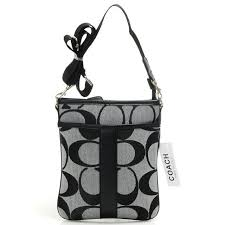 Big Discount Coach Legacy Swingpack In Signature Small Grey Crossbody Bags  AIH With Top Material Online