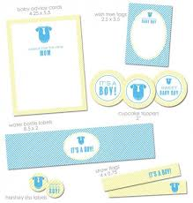 Free Baby Shower Baby Shower Printables Baby Boy Shower Baby