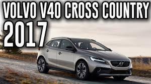 2017 Volvo V40 Cross Country - YouTube