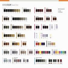 Kenra Hair Color Chart Lajoshrich Com