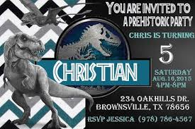 Jurassic Park Invitations Jurassic World Invitations Awesome 33 Best Jurassic Park