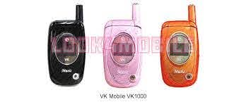 VK Mobile VK1000 - features, technical ...