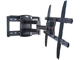 mono full motion articulating tv wall mount bracket for tvs 40in to 70in