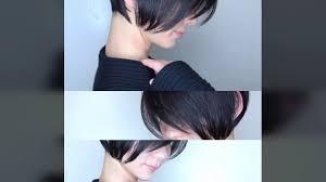 芸能人が売れる髪型前下がりショート Nor Su Youtube