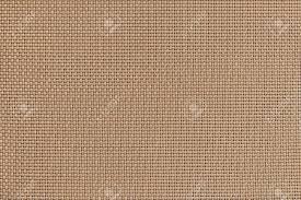 Geweven Structuur Van De Ruwe Stof Van Bleke Crème Kleur Met Een