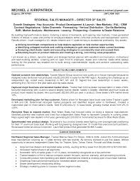 Brilliant Ideas Of Sales Manager Resume Sample Marketing On