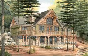 house barn walkout basement whetstone creek cabin elevation