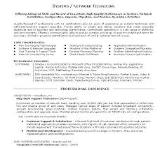 Cover Letter For It Technician Support Technician Cover Letter