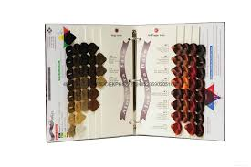 Hair Dye Color Chart China Manufacturer Pantone Color
