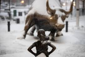 the infantilizing ways we talk about women s ambition the new yorker the fearless girl statue by the sculptor kristen visbal was conceived by