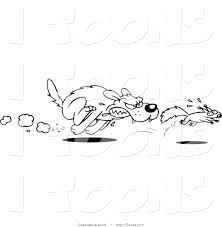 Small Picture Dog Chasing Cat Coloring Pages Coloring Pages