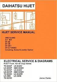 daihatsu hijet english electrical service manual s200p s210p s320v Outside AC Unit Wiring Diagram daihatsu hijet english electrical service manual s200p s210p s320v s330v james danko 9781257797479 amazon com books