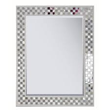 Style Selections Cream Polished Wall Mirror