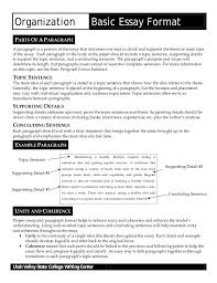 essay format template from assignmentsupport com essay writing servi  utah valley state college writing center 2 organization basic essay
