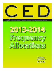 Ced Frequency Allocation Chart Frequency Allocation Chart_2013 2014 The Premier Magazine