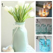 Diy Decorative Mason Jars 100 Mason Jar Ideas Mason Jar Decor Mason Jar Candles 13