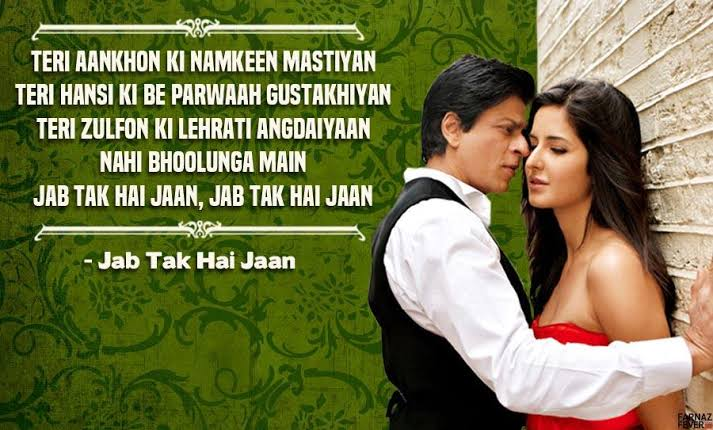 beautiful bollywood shayari