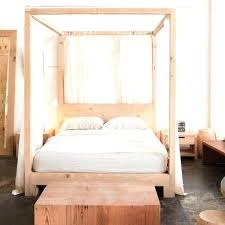 diy canopy bed frame wood canopy bed frames mark simple 4 poster bed wood canopy bed