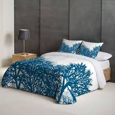 angel schlesser reef super king duvet cover blue