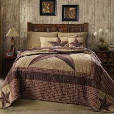 country comforters sets cabin quilt bedding log quilts twin 13