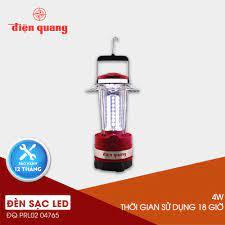 Đèn sạc Led Điện Quang ĐQ PRL02 04765 (4w, daylight, cầm tay )