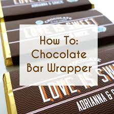 free printable candy bar wrappers for wedding favors design your own chocolate wrapper