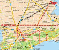 Программа развития туризма в Крыму ячеистая транспортная сеть  Ячеистая схема развития транспортной системы Крыма