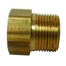 garden hose adapter. Everbilt Lead-Free Brass Garden Hose Adapter 3/4 In. FGH X 3 S