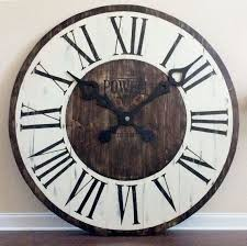 Small Picture Best 25 Large wall clocks ideas on Pinterest Big clocks Wall