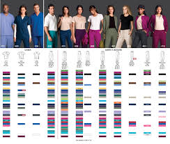 Scrub Color Chart Search Results Indoff Custom Embroidered Scrub Store